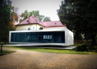Szigetvár, vármúzeum-fogadóépület